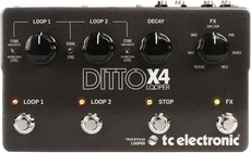 Tc Electronic Ditto X4 Looper Looper Pedal 2017