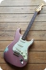 Fender Custom Shop Masterbuilt 60 Relic Jason Smith 2008 Burgundy Mist Over Daphne Blue