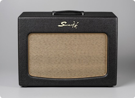 Swart Amps Atomic St Stereo Cab 1x12 2017 Black/twead