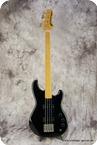 Ibanez Roadstar Fretless 1979 Black