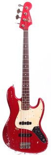 Matsushita Seen Fender Jazz Bass '62 Reissue Replica 1995 Candy Apple Red