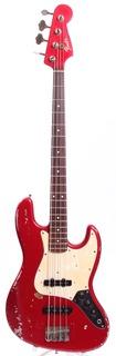 Matsushita Seen Fender Jazz Bass '62 Reissue Replica 1995 Candy Apple Red