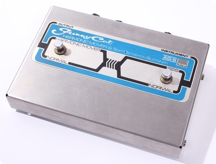 Roland Funny Cat Ag 5 Harmonic Mover & Soft Distortion Sustainer 1977 Chrome