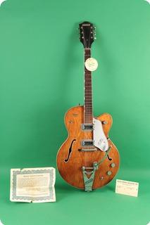 gretsch 6119 chet atkins tennessean 1963 walnut guitar for sale jay rosen music. Black Bedroom Furniture Sets. Home Design Ideas