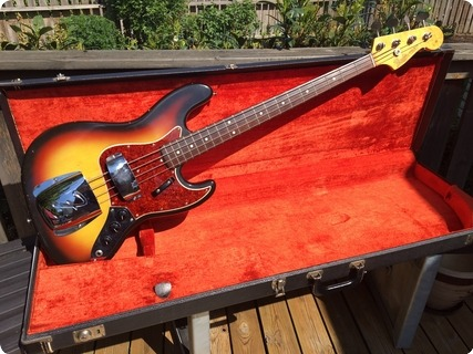 Fender Jazz Bass 1965 3 Colour Sunburst