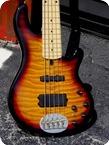 Lakland Skyline Deluxe 55 02 5 string Bass 2013 3 Tone Burst