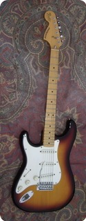Fender Stratocaster Lefty Left 1982 Sunburst
