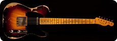 Fender Custom Shop Telecaster 1951 Heavy Relic 2017 2 Tone Sunburst