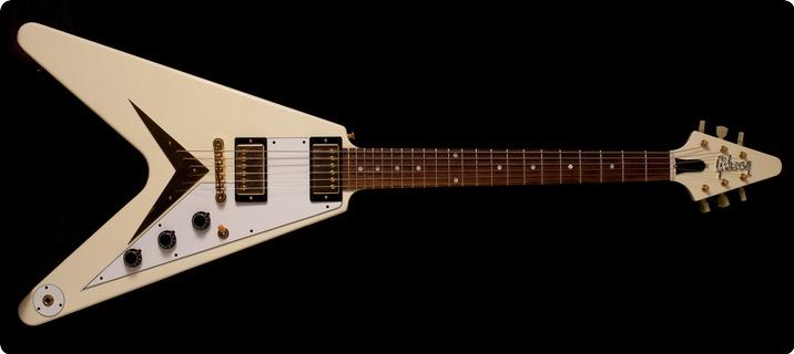 Gibson Custom Shop Flying V 1959 Vos 2017 Classic White