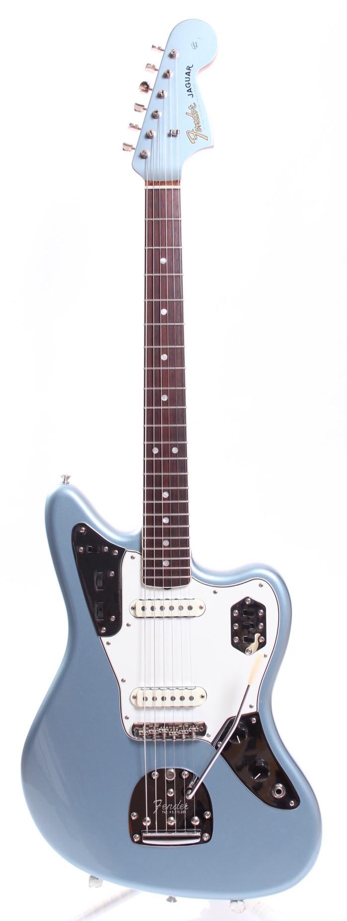 fender jaguar american vintage 39 65 reissue 2013 ice blue metallic guitar for sale yeahman 39 s guitars. Black Bedroom Furniture Sets. Home Design Ideas