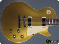 Gibson Les Paul Deluxe 1973 Goldtop Gold Metallic