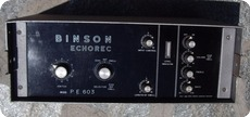 Binson Echorec PE603 1970 Grey