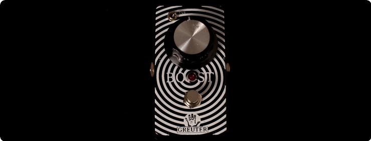 Greuter Audio Germanium Boost 2017