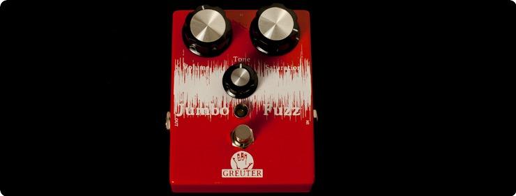 Greuter Audio Jumbo Fuzz 2017