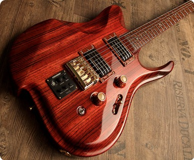 Zerberus Guitars Triton 2017 Blood Red