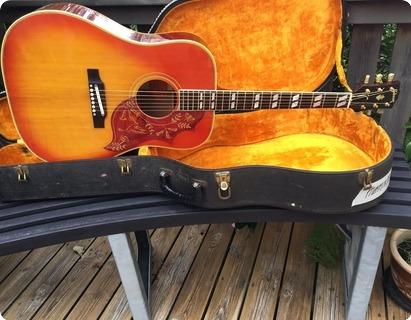 Gibson Hummingbird 1965 Chery Sunburst