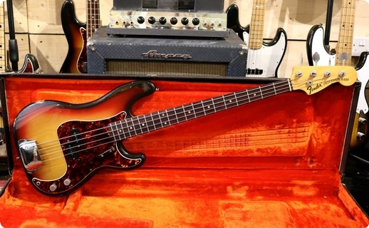 Fender Precision 1972 Sunburst