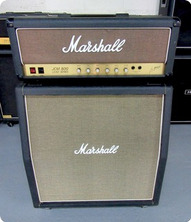 "Marshall Half Stack W/jcm 800 2203 100w Mk.2 Head & 4x12"" Slant Cabinet 1980"