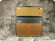 Vox AC 30 Topcabinet 1963 Black Tolex