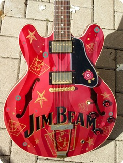 "Gibson Es 335 ""jim Beam Brands"" 1999"