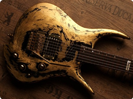 Zerberus Guitars Hydra I 2017 Gold Leaf Plated 24ct