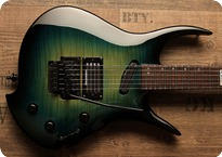 Zerberus Guitars Hydra I 2017 Jungle Green Burst