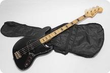 Greco Jazz Bass 1980 Black