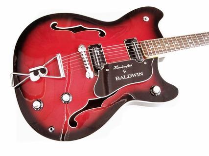 Baldwin Gb66 Deluxe 1966 Redburst