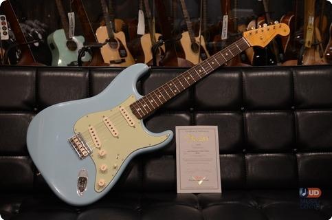 Fender Masterbuilt Yuriy Shishkov 60's Stratocaster Hardtail 2017 Aged Daphne Blue