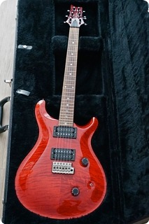 Paul Reed Smith Prs Custom 24 1990 Scarlet Red