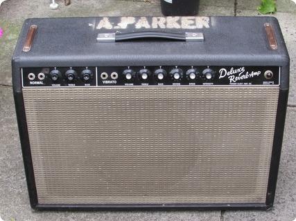 Fender David Bowie Super Reverb T Rex 1965 Black