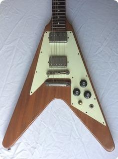 Gibson Flying V 1975 Natural Mahogany