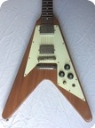 Gibson Flying V 1975 Natural Mahogany