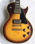 Gibson Les Paul Custom 1975 Tobacco Sunburst