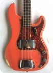 Fender Precision Bass 1961 Fiesta Red