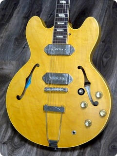 Epiphone John Lennon Revolution 1965 Casino Limited Edition 1965 Blonde Guitar For Sale Guitarbroker