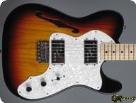 Fender Telecaster Thinline 2017 3 tone Sunburst