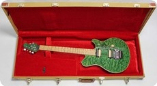 Music Man Axis EX 0000 Translucent Green