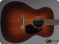 Martin OM 15 Custom 2010 Sunburst