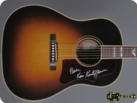Gibson Kris Kristofferson SJ 1 Of 20 Signed 2009 Sunburst