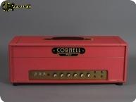 Cornell DC Plexi 4550 Head 2017 Red Levant