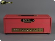 Cornell DC Plexi 4550 Head 2017 Red Levant