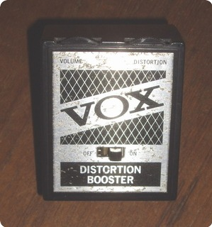 Vox Distortion Booster 1960 Metal Box