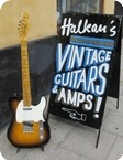 Fender Telecaster Custom Shop Feather Weight 2.9 Kilos 2014 Sunburst
