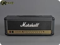 Marshall JCM900 HiGain Dual Reverb 100 Watt 1991 Black Levant