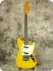 Fender Mustang 1965 Yellow Refinished