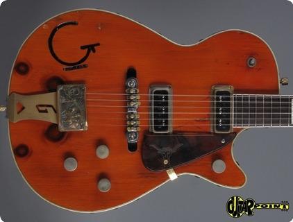 Gretsch 6130 Knotty Pine (ex Brian Setzer!) 1955 Orange    ...4x Knoots !