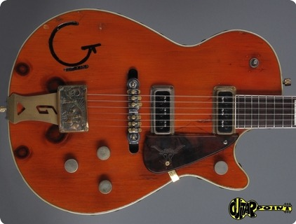 Gretsch 6130 Knotty Pine (ex Brian Setzer!) 1955 Orange    ...4x Knoots !