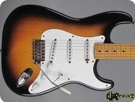 Fender Stratocaster Ex Eric Johnson 1954 2 tone Sunburst