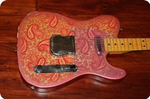 Fender Paisley Telecaster 1968 Paisely